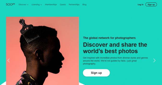 500px-website-screenshot-675x356 Best 50 Free Stock Photos Websites in 2019