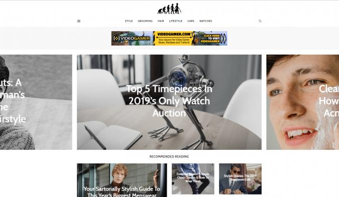 Ape-to-Gentleman-website-screenshot-675x393 Best 50 Lifestyle Blogs and Websites to Follow in 2020