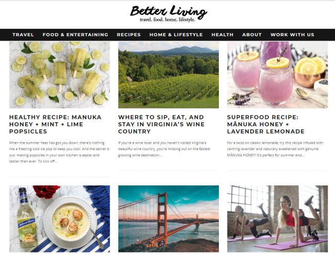 Better-Living-website-screenshot-675x517 Best 50 Lifestyle Blogs and Websites to Follow in 2019