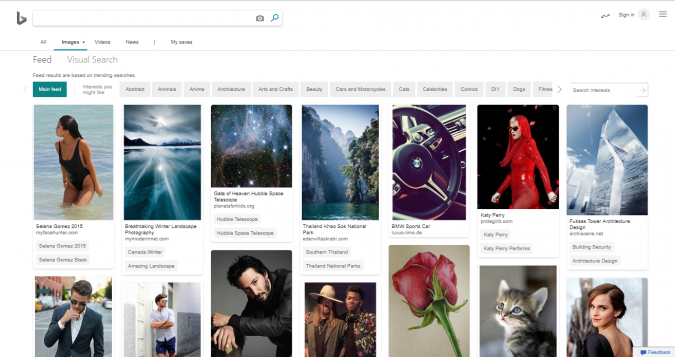 Bing-stock-image-website-screenshot-675x357 Best 50 Free Stock Photos Websites in 2019