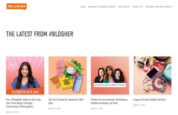 BlogHer-website-screenshot-675x437 Best 50 Lifestyle Blogs and Websites to Follow in 2019