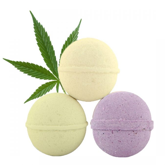 CBD-Bath-Bombs-675x675 Top 15 Unusual Products of CBD That Worth Trying
