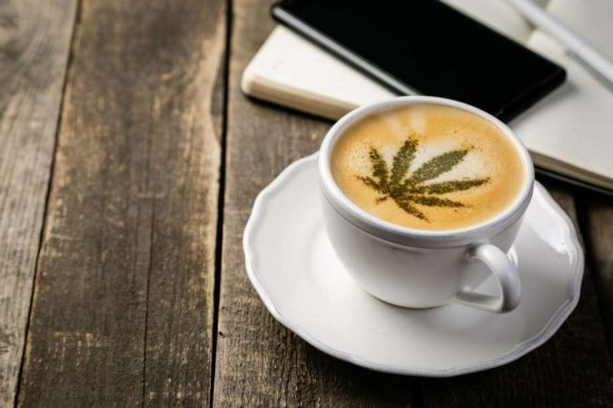 Cannabis-coffee-675x450 Top 15 Unusual Products of CBD That Worth Trying