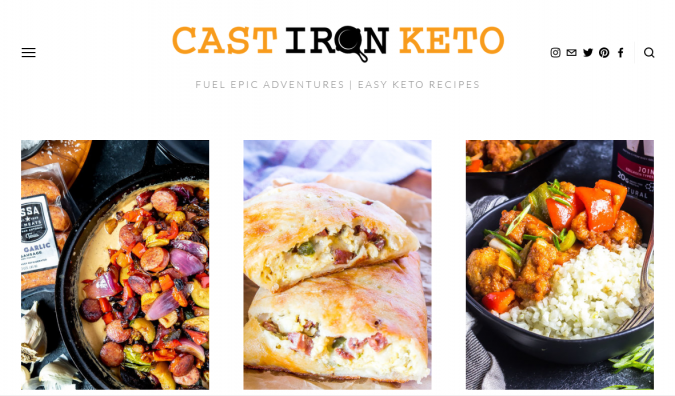 Cast-Iron-Keto-blog-screenshot-675x396 Best 40 Keto Diet Blogs and Websites in 2019