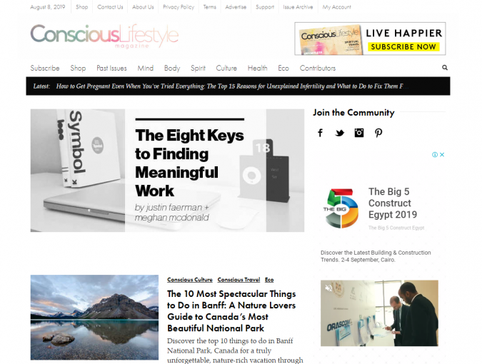 Conscious-Lifestyle-website-magazine-675x510 Best 50 Lifestyle Blogs and Websites to Follow in 2020
