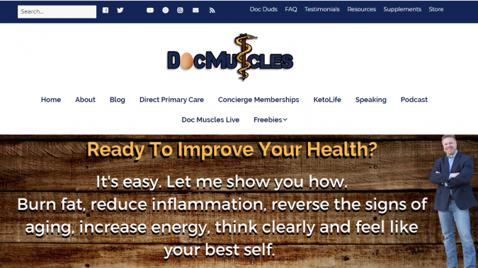 Doc-Muscles-blog-screenshot-675x379 Best 40 Keto Diet Blogs and Websites in 2020