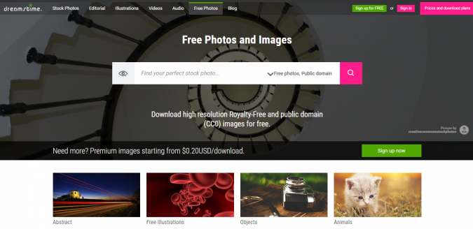 Dreamstime-stock-image-website-screenshot-675x328 Best 50 Free Stock Photos Websites in 2019