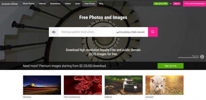 Dreamstime-stock-image-website-screenshot-675x328 Best 50 Free Stock Photos Websites in 2020