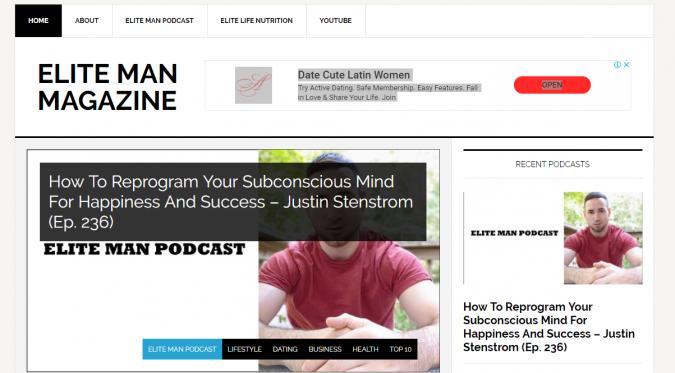 Elite-Man-Magazine-website-screenshot-675x373 Best 50 Lifestyle Blogs and Websites to Follow in 2020