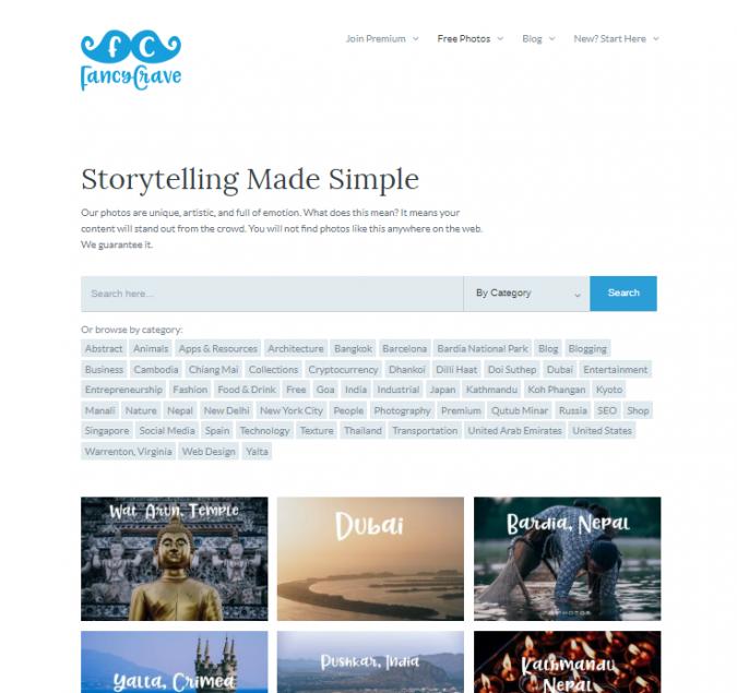 Fancy-Craves-website-screenshot-675x635 Best 50 Free Stock Photos Websites in 2019