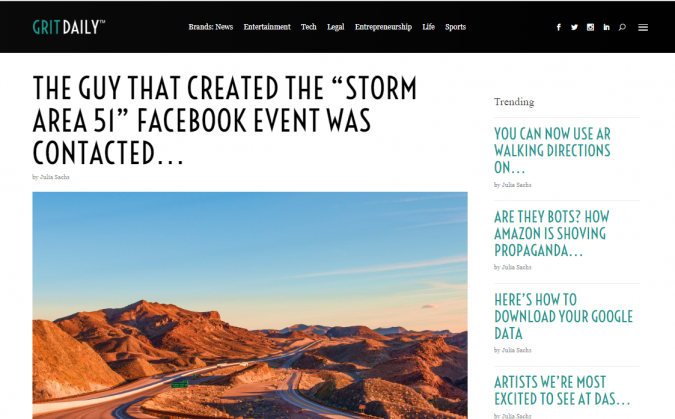 Grit-Daily-website-screenshot-675x419 Best 50 Lifestyle Blogs and Websites to Follow in 2020