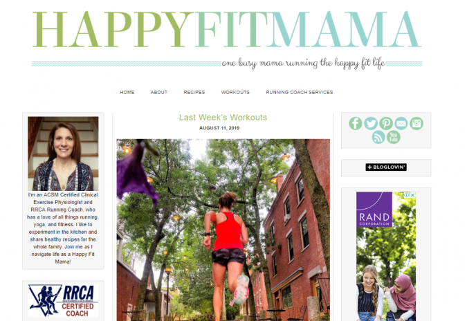 Happy-Fit-Mama-website-screenshot-675x464 Best 50 Lifestyle Blogs and Websites to Follow in 2019