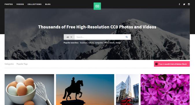 ISO-stock-image-website-screenshot-675x365 Best 50 Free Stock Photos Websites in 2019