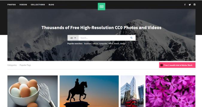 ISO-website-screenshot-675x359 Best 50 Free Stock Photos Websites in 2019