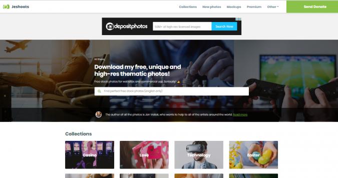 Jeshoots-website-screenshot-675x355 Best 50 Free Stock Photos Websites in 2019