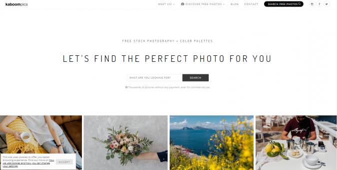Kaboompics-stock-image-website-screenshot-675x341 Best 50 Free Stock Photos Websites in 2020