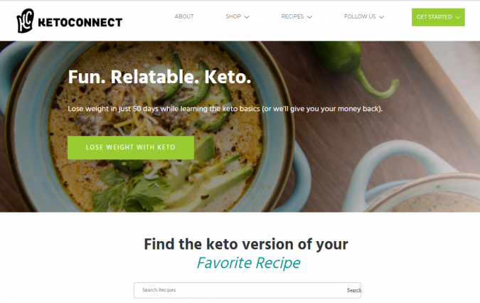 Keto-Connect-blog-screenshot-675x426 Best 40 Keto Diet Blogs and Websites in 2019
