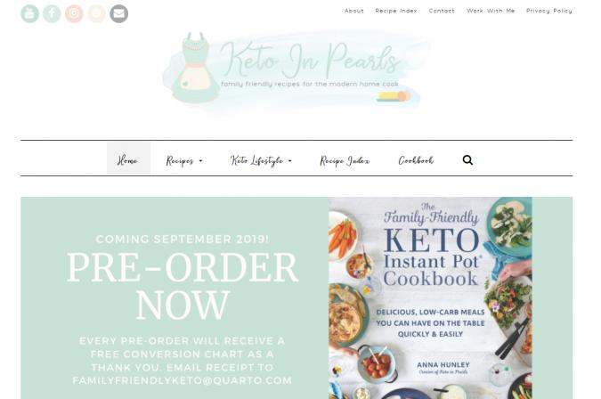 Keto-in-Pearls-blog-screenshot-675x448 Best 40 Keto Diet Blogs and Websites in 2020