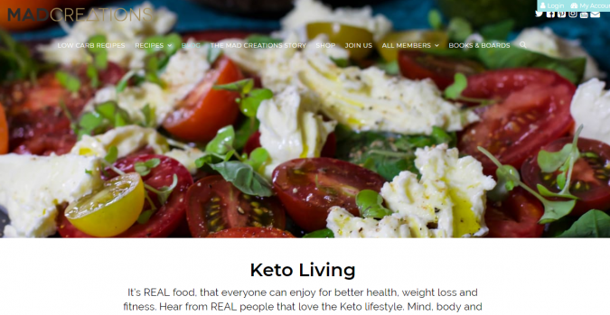 Mad-Creations-blog-screenshot-675x349 Best 40 Keto Diet Blogs and Websites in 2019