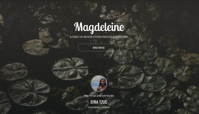 Magdeleine-stock-image-website-screenshot-675x387 Best 50 Free Stock Photos Websites in 2019