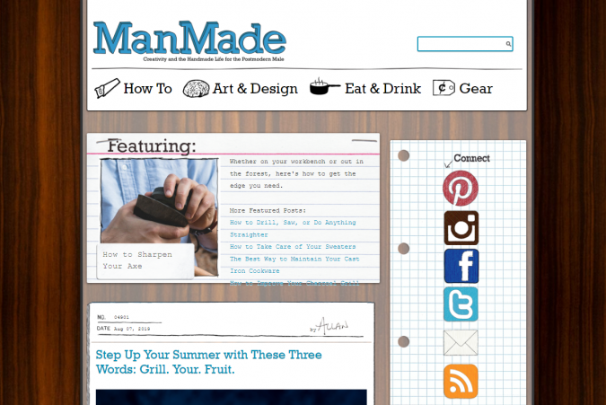 Man-Made-DIY-website-screenshot-675x451 Best 50 Lifestyle Blogs and Websites to Follow in 2019