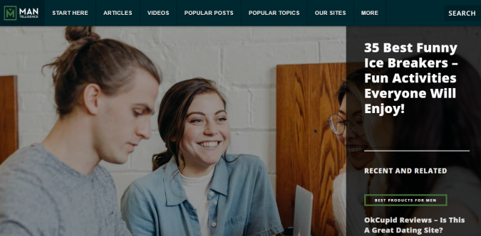 Mantelligence-website-screenshot-675x332 Best 50 Lifestyle Blogs and Websites to Follow in 2020