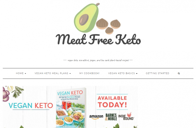 Meat-Free-Keto-blog-screenshot-675x440 Best 40 Keto Diet Blogs and Websites in 2019