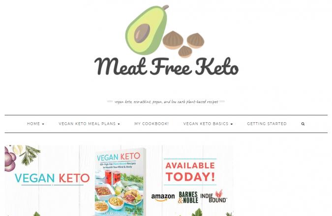 Meat-Free-Keto-blog-screenshot-675x440 Best 40 Keto Diet Blogs and Websites in 2020