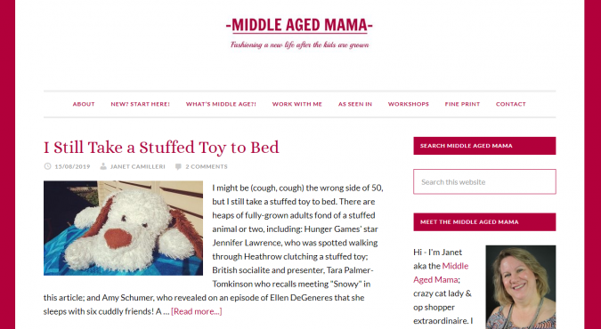 Middle-Aged-Mama-website-screenshot-675x370 Best 50 Lifestyle Blogs and Websites to Follow in 2020