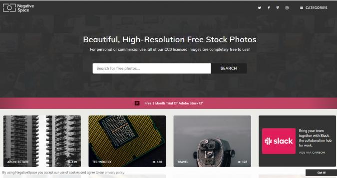 Negative-Space-stock-image-website-screenshot-675x358 Best 50 Free Stock Photos Websites in 2019