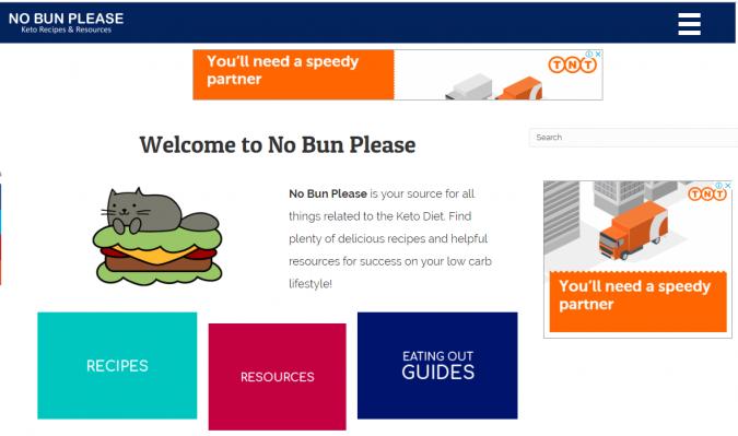 No-Bun-Please-blog-screenshot-675x399 Best 40 Keto Diet Blogs and Websites in 2020