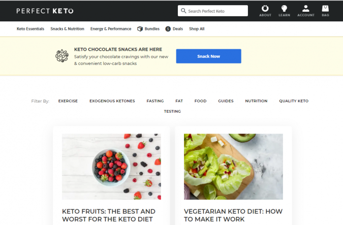 Perfect-Keto-blog-screenshot-675x443 Best 40 Keto Diet Blogs and Websites in 2020