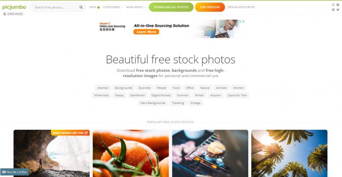 Picjumbo-website-screenshot-675x349 Best 50 Free Stock Photos Websites in 2019