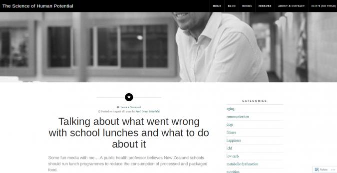 Prof.-Grant-Schofield-blog-screenshot-675x347 Best 40 Keto Diet Blogs and Websites in 2020