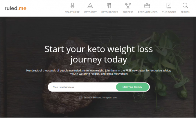 Ruled.me-blog-screenshot-675x406 Best 40 Keto Diet Blogs and Websites in 2019