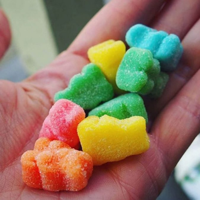 Sour-Gummies-675x675 Top 15 Unusual Products of CBD That Worth Trying