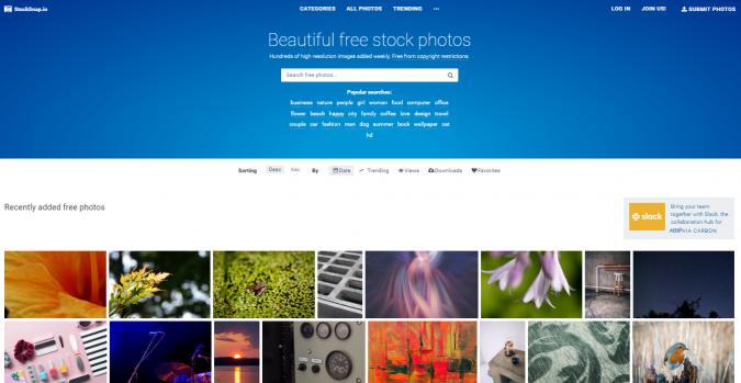 Stock-Snap-website-screenshot-675x349 Best 50 Free Stock Photos Websites in 2019