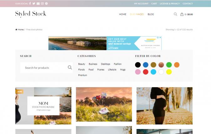 Styled-Stock-website-screenshot-675x429 Best 50 Free Stock Photos Websites in 2019
