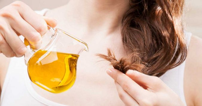 Using-almond-oil-for-hair-675x354 15 Natural Hair Beauty Tips for All Hair Types