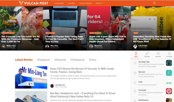 Vulcan-Post-website-screenshot-675x396 Best 50 Lifestyle Blogs and Websites to Follow in 2020
