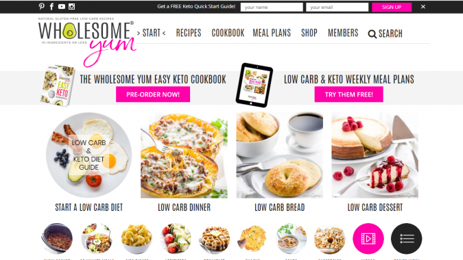 Wholesome-Yum-blog-screenshot-675x380 Best 40 Keto Diet Blogs and Websites in 2019