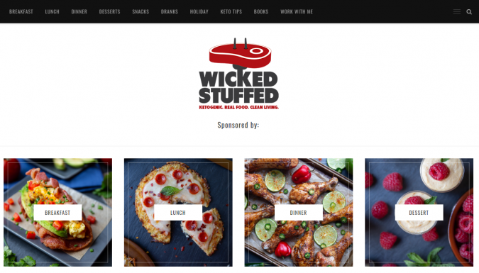 Wicked-Stuffed-blog-screenshot-675x385 Best 40 Keto Diet Blogs and Websites in 2020