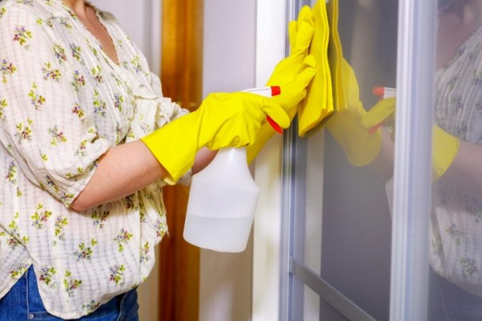 cleaning-doors-675x450 6 Most Essential Things in Your Home to Keep Clean