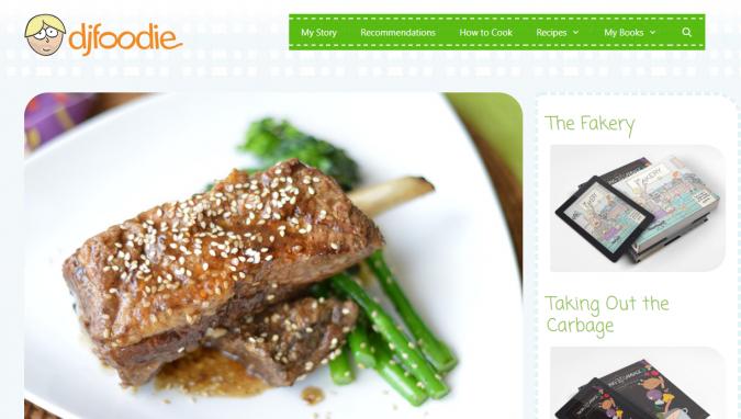 dj-foodie-blog-screenshot-675x382 Best 40 Keto Diet Blogs and Websites in 2020