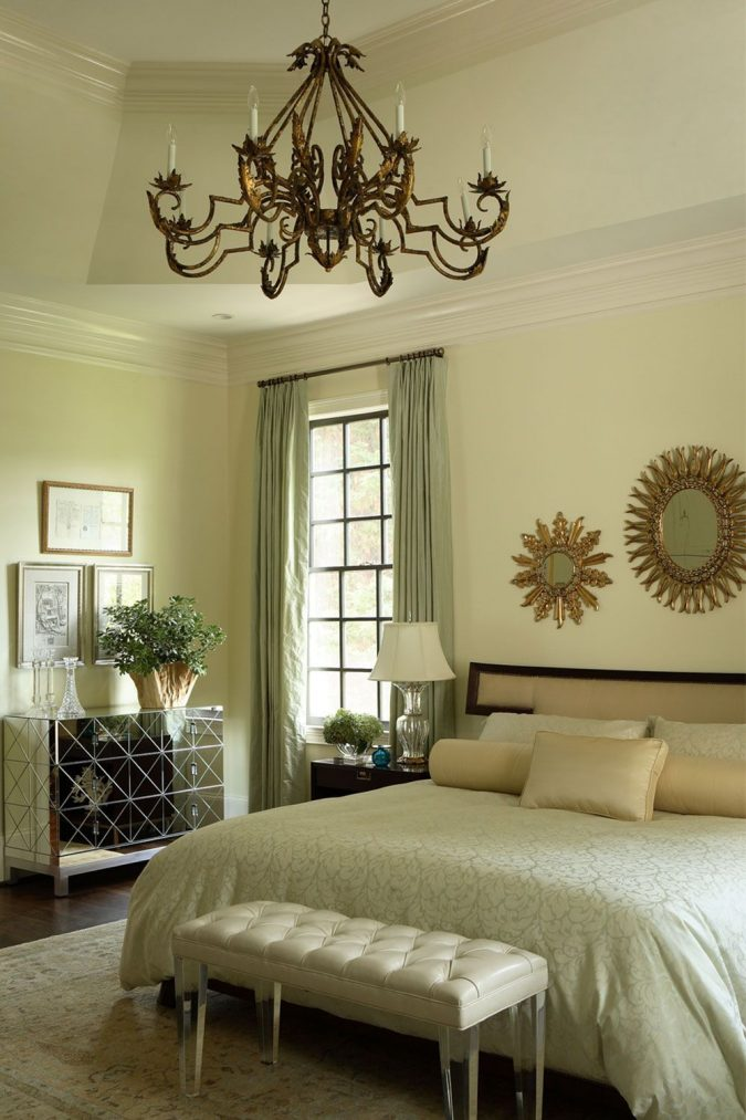 green-bedroom-675x1013 9 Important Things to Remember When Decorating Your Bedroom