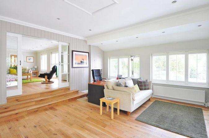 home-decor-living-room-wood-flooring-675x448 The Ultimate Guide to Flooring Options