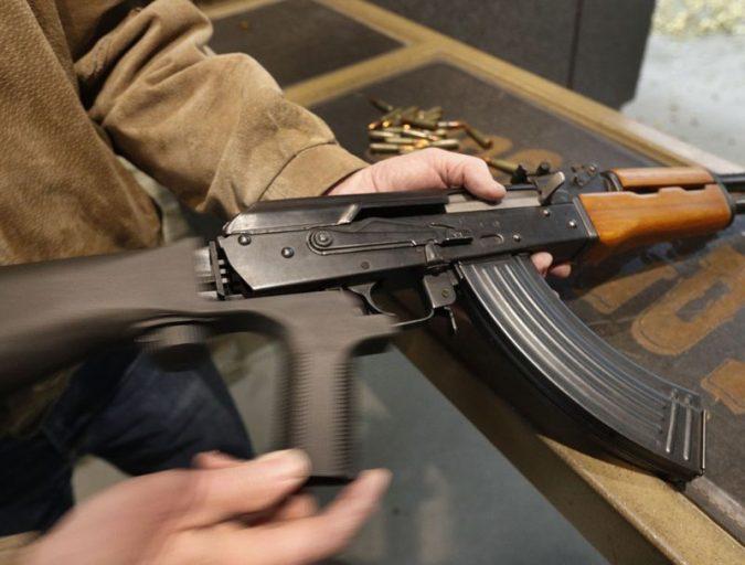 "man-holding-gun-675x512 ""Gun Control"" vs. ""Gun Rights"" - Which Decision To Choose?"