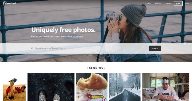 reshot-stock-image-website-screenshot-675x356 Best 50 Free Stock Photos Websites in 2020