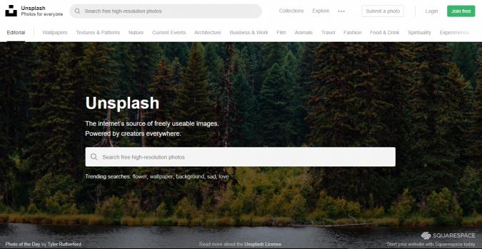 unsplash-website-screenshot-675x350 Best 50 Free Stock Photos Websites in 2019