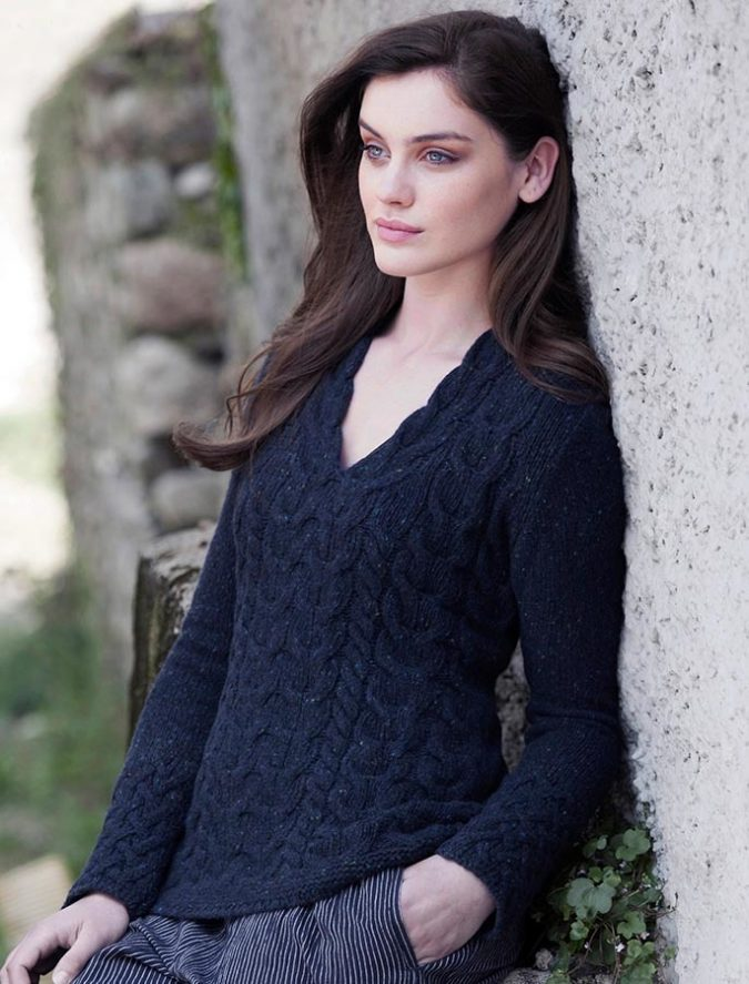 Aran-sweater-675x887 Embrace the Autumn with Aran Sweaters and Irish Knits